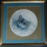 """S-02 """"Katze"""" 67 cm x 67 cm"""