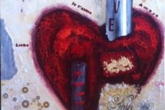 """Love"" 60 cm x 60 cm"